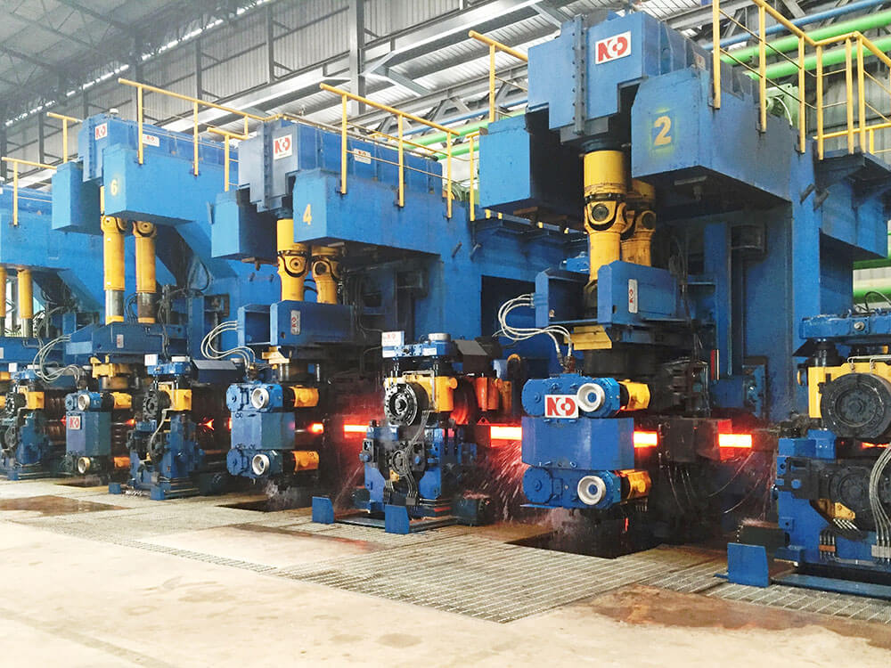 Hot rolling mill asia long products steel mills stands