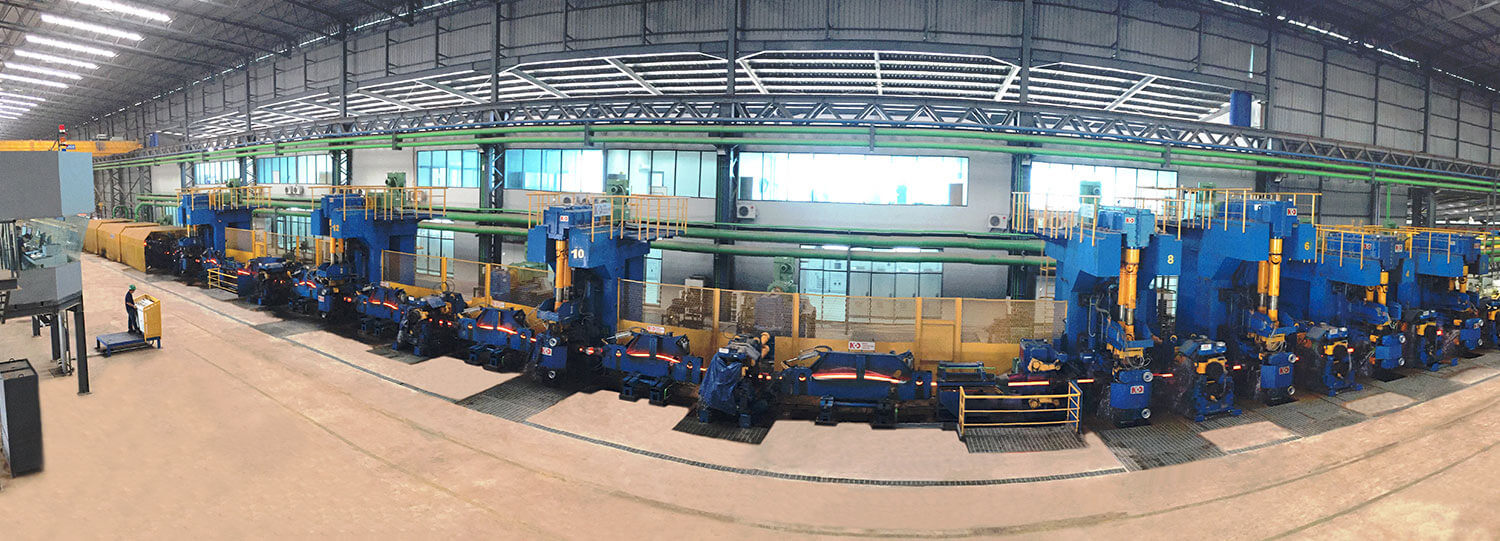 Long products hot rolling mill plant manufacturing engineering upgrading