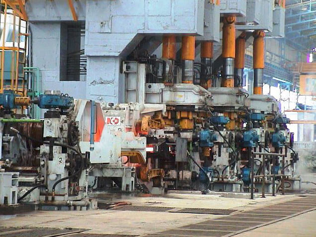 Roll stands mill rebar machinery plant
