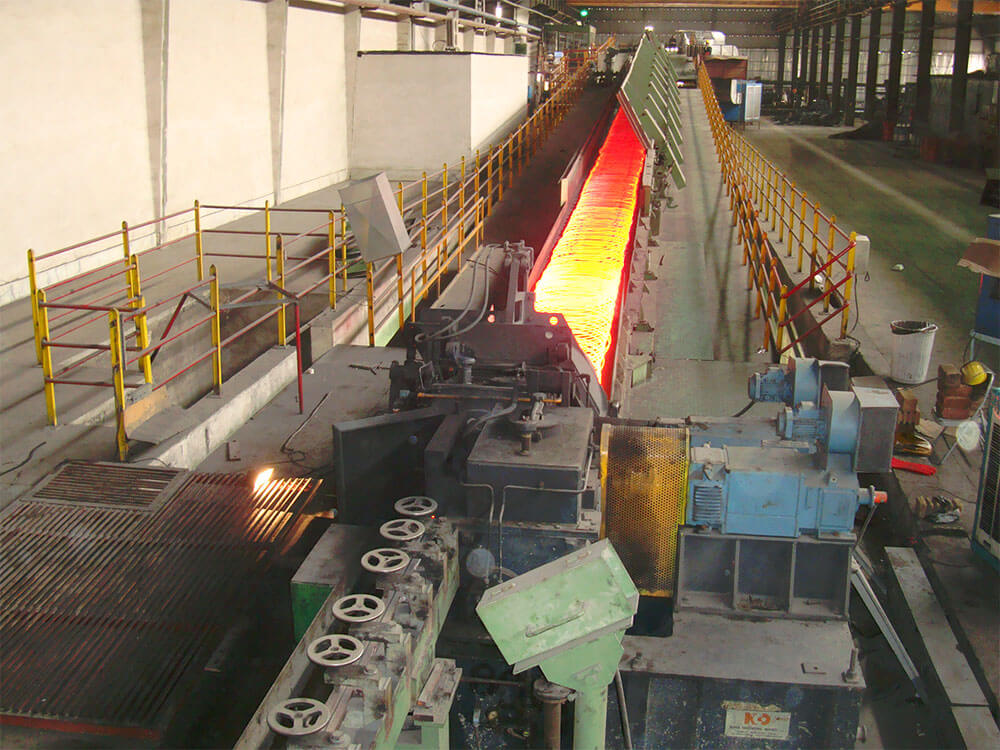 wire rod hot mill complete plant manufacturer