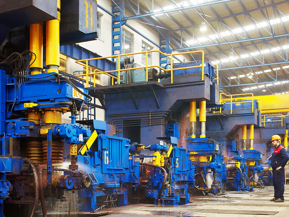 Steel rolling mills machinery long products