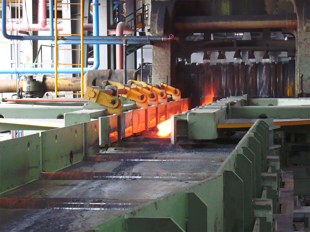 Hot rolling beam steel section machinery