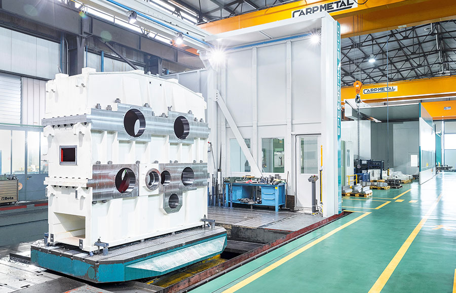 hot rolling mill long products spares gearboxes