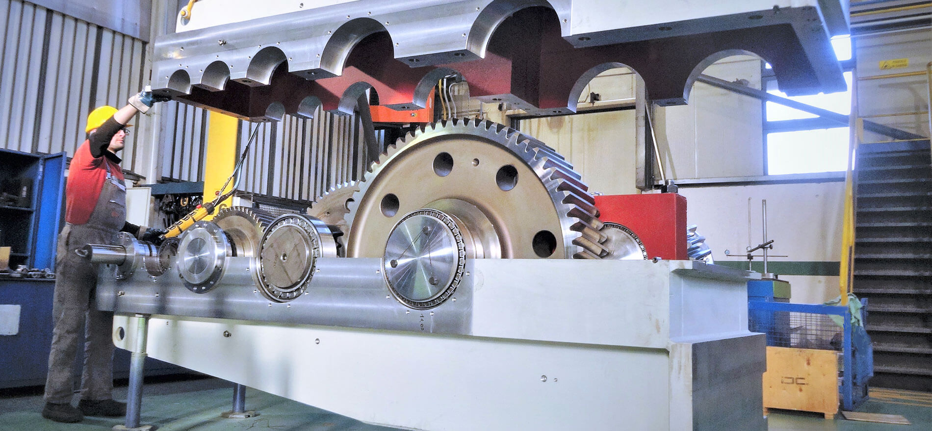hot rolling mill engineering gearboxes